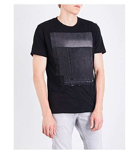 DIESEL T-Rev cotton-jersey T-shirt (Black
