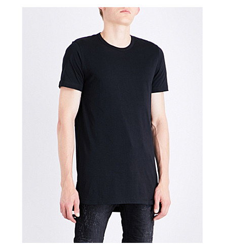 DIESEL T-timothy cotton-jersey T-shirt (Black
