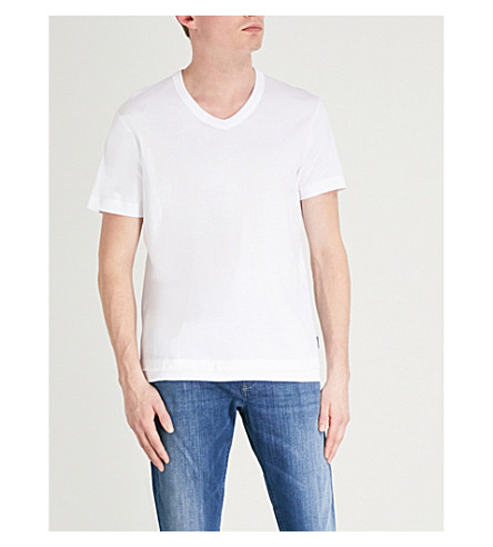 DIESEL T-Eric cotton-jersey T-shirt (Bright+white