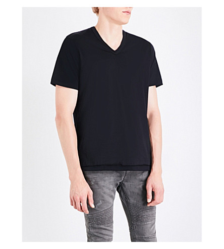 DIESEL T-Eric cotton-jersey T-shirt (Black