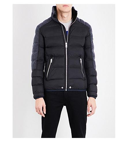 DIESEL W-mode-fd shell puffer jacket (Black