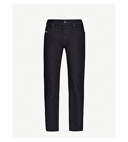 DIESEL Buster 0607A regular-fit slim-tapered jeans (Denim