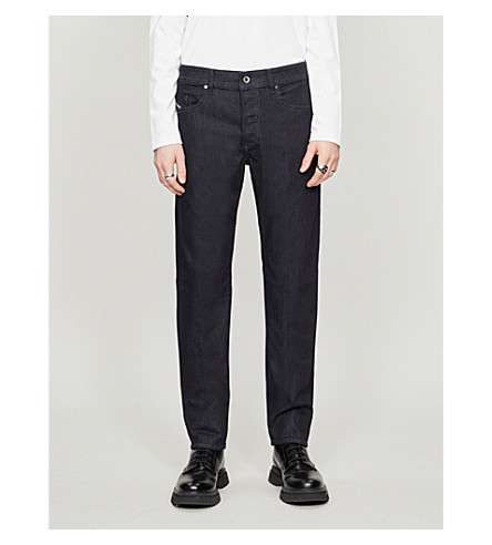 DIESEL Buster 0607A regular-fit slim-tapered jeans (Denim