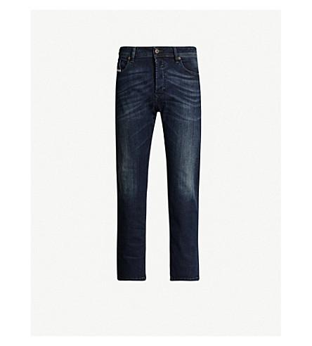 DIESEL Waykee 0814W regular-fit straight cropped jeans (Denim