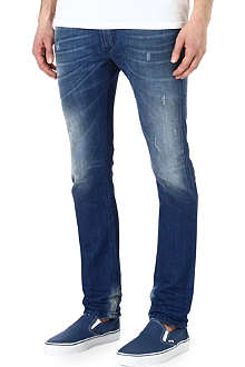 DIESEL Light blue slim-fit jeans