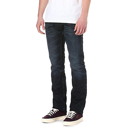 DIESEL Safado regular-fit mid-rise jeans (01