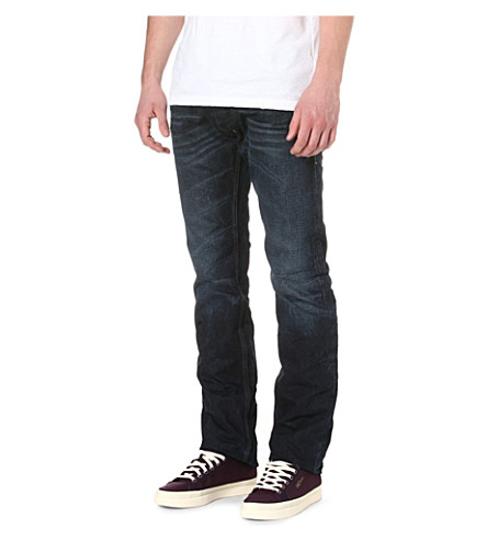 DIESEL Safado regular-fit mid-rise jeans (1