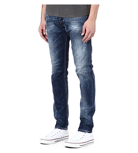 DIESEL Tepphar slim-fit tapered jeans (01 (denim)