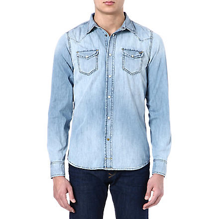 DIESEL Sonora denim shirt (01+(denim)