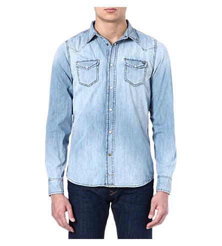 DIESEL Sonora denim shirt (01 (denim)
