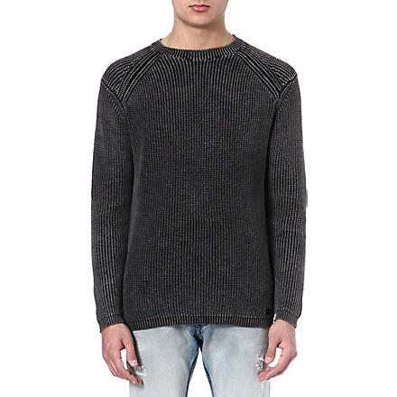 DIESEL K-Chitra knitted jumper (900 (black)
