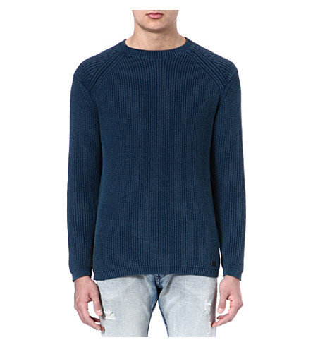 DIESEL K-Chitra knitted jumper (85l (blue)