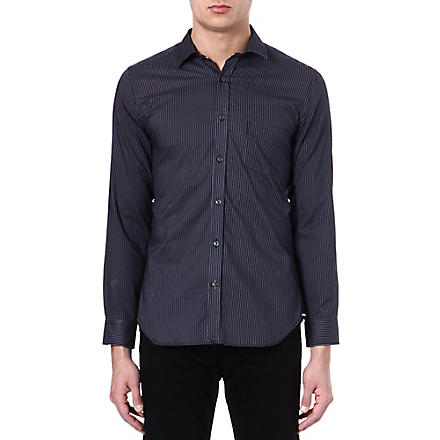 DIESEL S-harm cotton shirt (900+(black)