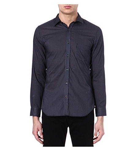 DIESEL S-harm cotton shirt (900 (black)