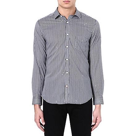DIESEL Stripe cotton shirt (100 (white)