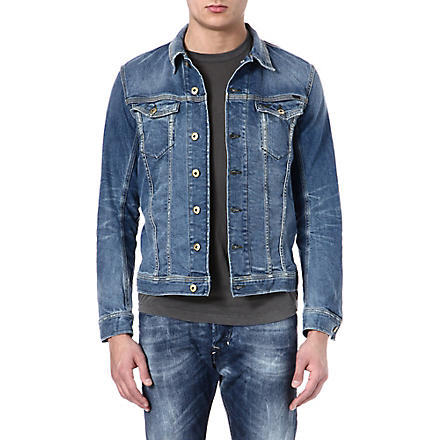 DIESEL Jinka stretch denim jacket (01+(denim)