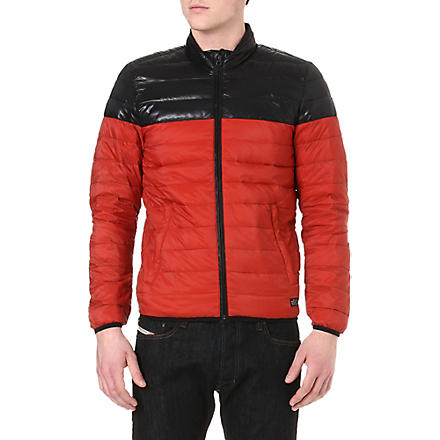 DIESEL Jaimee quilted jacket (41v (red)