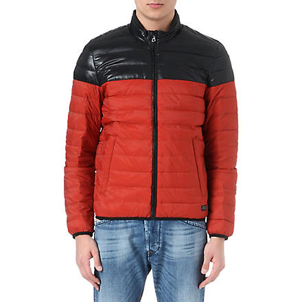 DIESEL Jaimee quilted jacket (Red