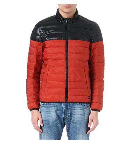 DIESEL Jaimee quilted jacket (Red