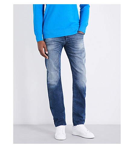 DIESEL Belther regular-fit tapered jeans (Denim