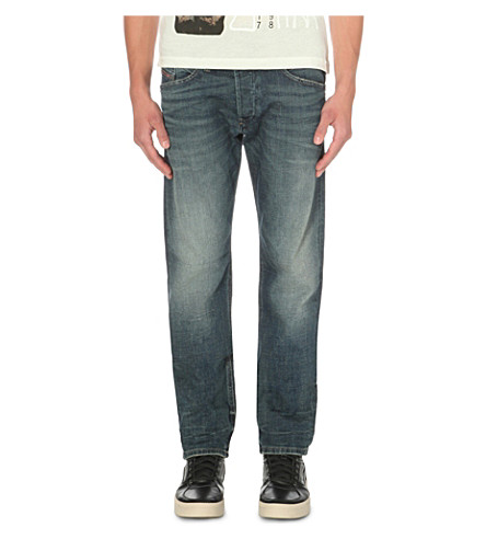 DIESEL Belther 0857n regular-fit tapered jeans (Denim