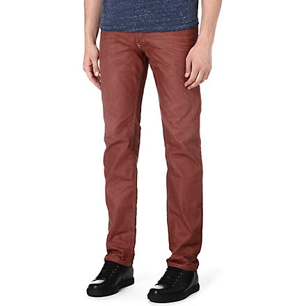 DIESEL Belther regular-fit tapered jeans (011+(rust)