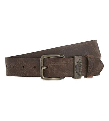 DIESEL B-frag belt (Brown