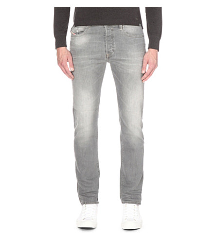 DIESEL Buster 0853t regular-fit tapered jeans (Denim