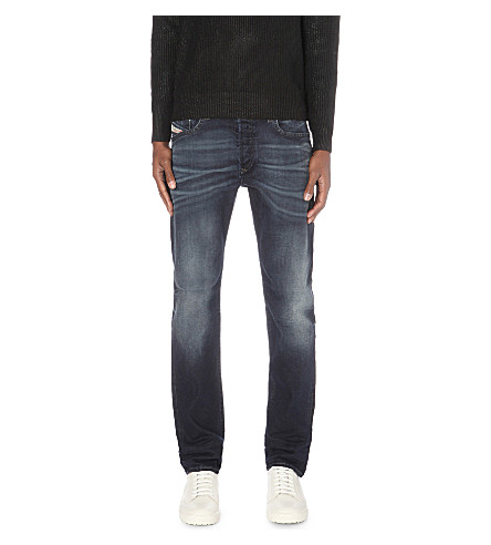 DIESEL Buster regular-fit tapered jeans (Denim