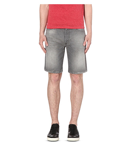 DIESEL Buster regular-fit stretch-denim shorts (Denim