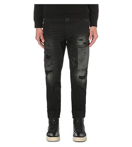 DIESEL Carrot-Chino 0857u regular-fit skinny jeans (Denim