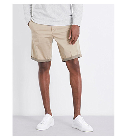 DIESEL Driver regular-fit stretch-cotton shorts (Chinchilla