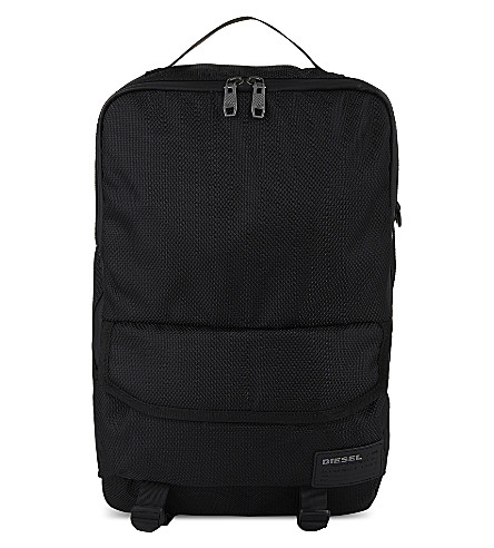 DIESEL F-close zipped backpack (Black