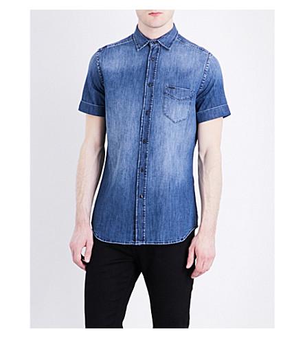 DIESEL D-Kendall regular-fit denim shirt (Blue