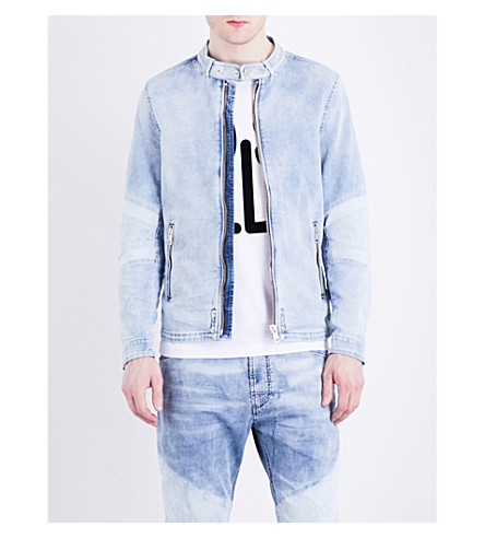 DIESEL Jambra dr-ne denim jacket (Denim+blue