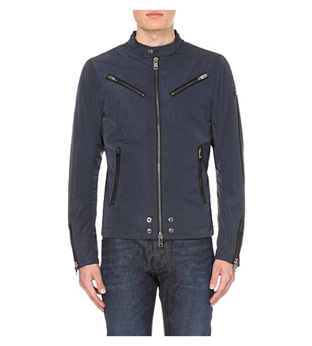DIESEL J-Edgea shell jacket (Navy