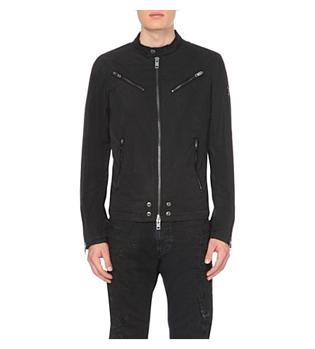 DIESEL J-Edgea shell jacket (Black