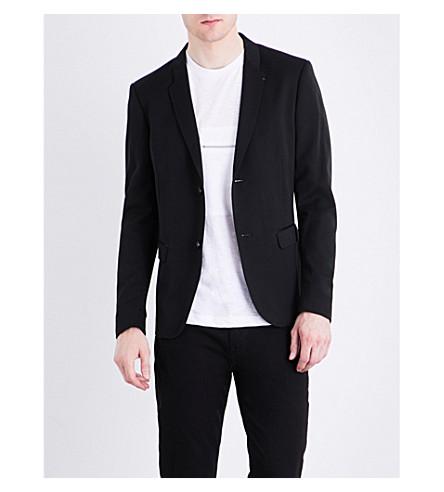 DIESEL J-Rivera woven blazer (Black