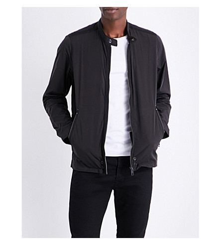 DIESEL J-rum shell bomber jacket (Black