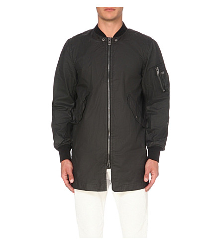 DIESEL J-Ube cotton jacket (Black