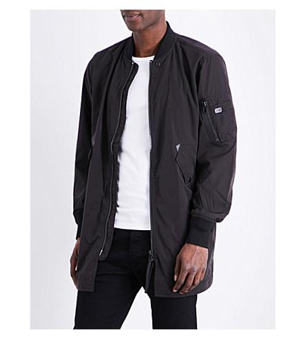 DIESEL J-ubert shell bomber jacket (Black