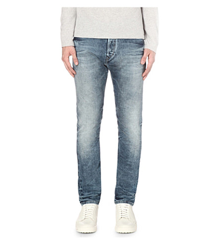 DIESEL Kakee 0853 slim-fit tapered jeans (Denim