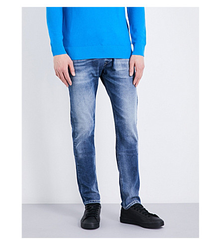 DIESEL Kakee regular-fit tapered jeans (Denim+blue