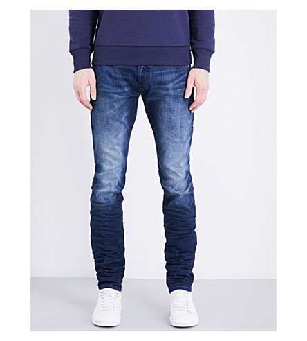 DIESEL Kakee slim-fit tapered jeans (Denim+blue