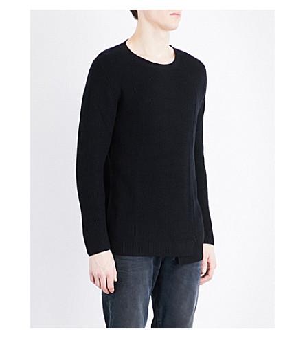 DIESEL K-Pueblo knitted jumper (Black