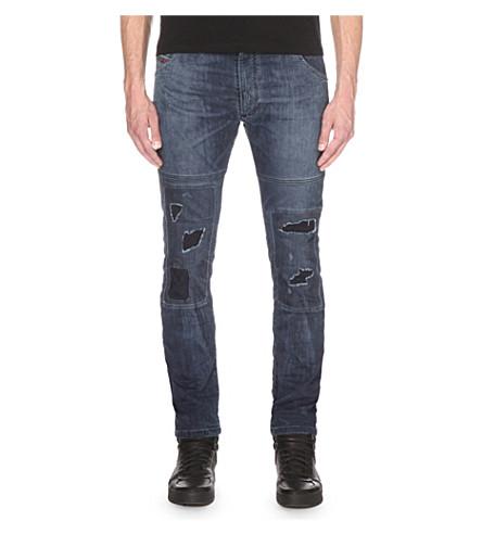 DIESEL Krooley 0675z slim-fit tapered jeans (Denim