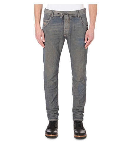 DIESEL Krooley-ne slim-fit tapered joggjeans (Denim0673n
