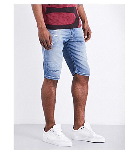 DIESEL Krooshort-ne stretch shorts (Denim blue