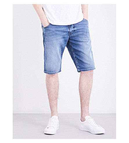 DIESEL Kroshort-ne relaxed-fit denim shorts (Denim+blue