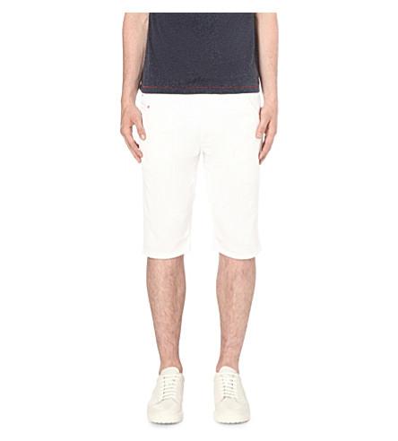 DIESEL Kroshort 0663 stretch-denim shorts (White